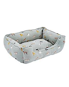 Dog Print Animal Bed