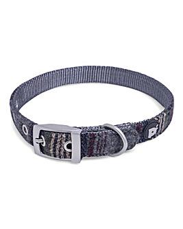 Petface Grey Tweed Collar