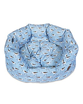 Petface Sandpiper Oval Bed