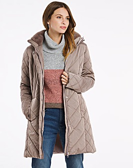 Julipa Padded Coat With Detachable Hood