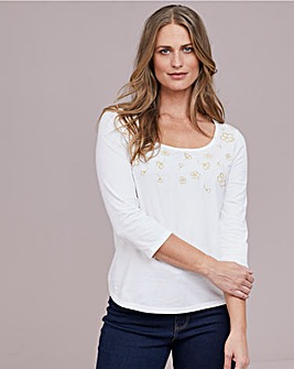 Julipa Embroidered T Shirt