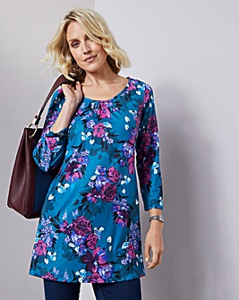 Julipa Round Neck Jersey Tunic