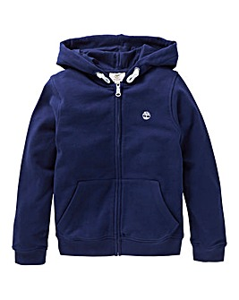 Timberland Boys Full Zip Logo Hoodie