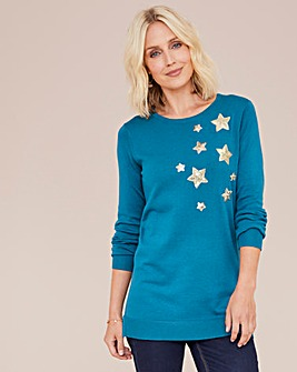 Julipa Tunic Jumper With Stars