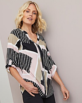 Julipa Zip Blouse