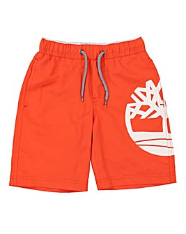 Timberland Boys Logo Swim Shorts