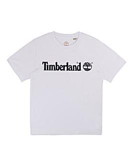 Timberland Boys Linear Logo T-Shirt