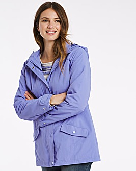 Julipa Rain Jacket with Fleece Lining