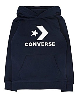 Converse Boys Stacked Logo Hoodie