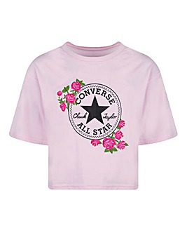 Converse Girls Rose Chuck Patch T-Shirt