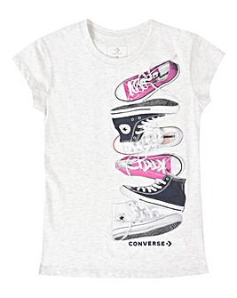 Converse Girls Stack Shoe T-Shirt
