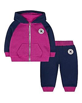 Converse Baby Girl Jogger Set
