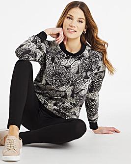 Julipa Leisure Butterfly Sweatshirt