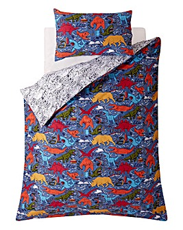 Fat Face Wild Imagination Single Duvet