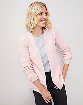 Julipa Fluffy Edge to Edge Cardigan