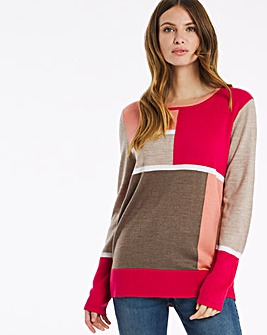 Julipa Colour Block Jumper