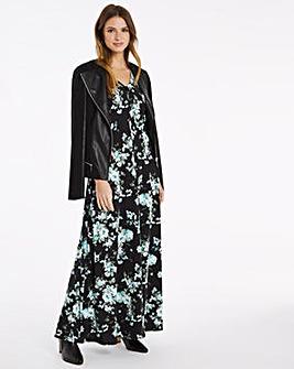 Julipa Jersey Print Shirt Dress