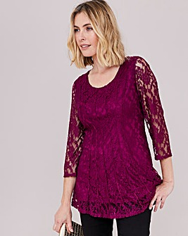 Julipa Lace Stretch Top
