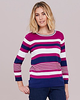 Julipa Super Soft Stripe Jumper