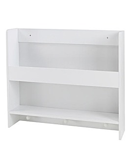 Wall Shelf with Hanger