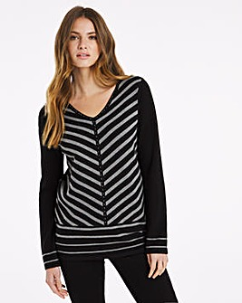 Julipa Smart Colour Block Jumper