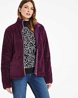Julipa Leisure Teddy Fleece Jacket