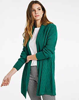 Julipa Cable Swing Cardigan