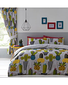 Cacti Single Duvet Cover Set