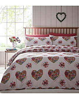 Love & Joy Single Duvet Cover Set