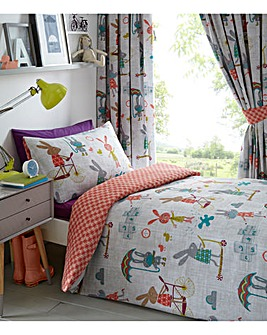 Puddle Pals Duvet Cover Set