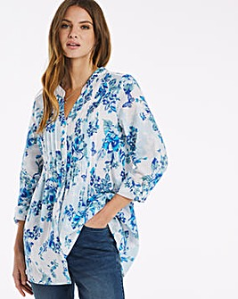 Julipa Cotton Pintuck Shirt