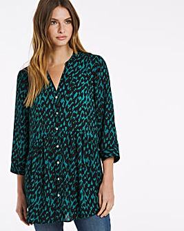 Julipa Print Tunic Blouse