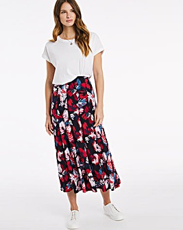 Julipa Pull On Panelled Skirt 32