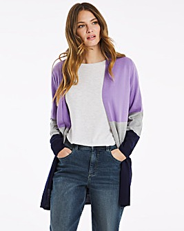 Julipa Super Soft Colour Block Cardigan