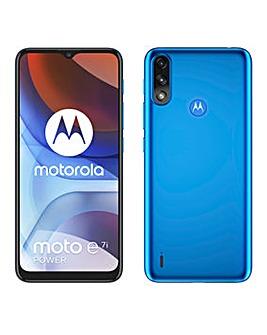 Motorola Moto E7i Power - Tahiti Blue