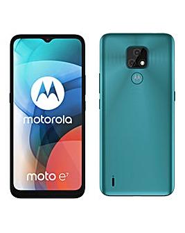 Motorola Moto E7 - Aqua Blue