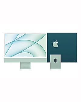 Apple iMac with Retina 4.5K Display, 256GB, M1 chip and 8 core CPU - Green