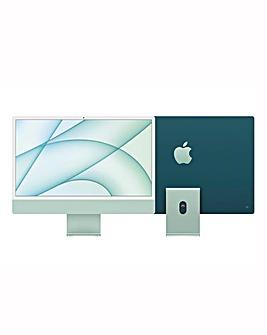 Apple iMac with Retina 4.5K Display, 512GB, M1 chip and 8 core CPU - Green