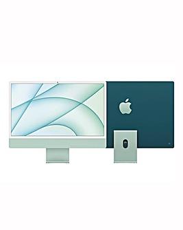 Apple iMac with Retina 4.5K Display, 256GB, M1 chip and 8/7 core CPU - Green