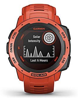 Garmin Instinct Solar Flame Red