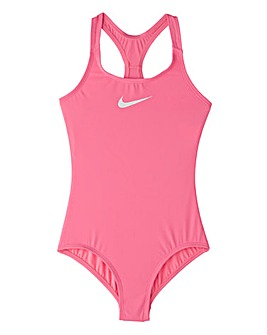 Nike Swim Girls Racerback Swimsuit