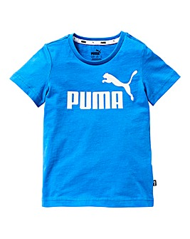Puma Boys Logo T-Shirt