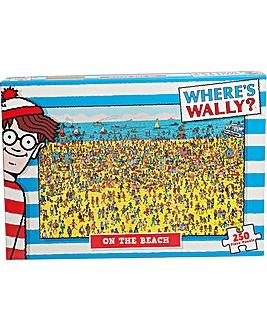Wheres Wally? Beach 250 Piece Jigsaw