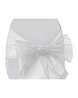 Organza Chair Bow x 6