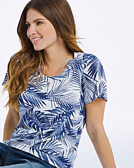 Julipa Printed Slinky Top
