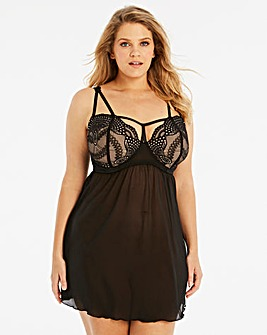 Simply Be Amy Lace Balcony Babydoll