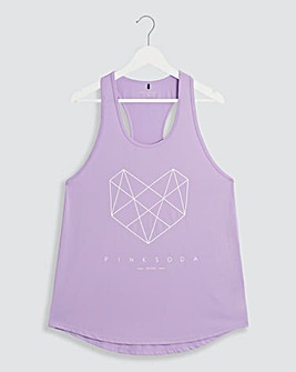 Pink Soda Shadow Tank Top