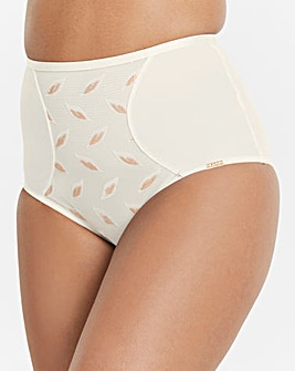 Figleaves Curve Leaf Embroidered Brief