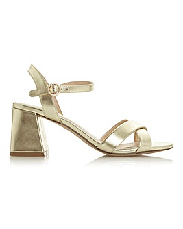 Head Over Heels Moni Flared Heel Sandals