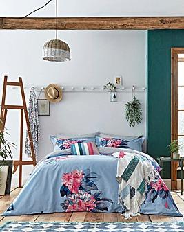 Joules Cornish Floral Reversible Duvet Cover Set